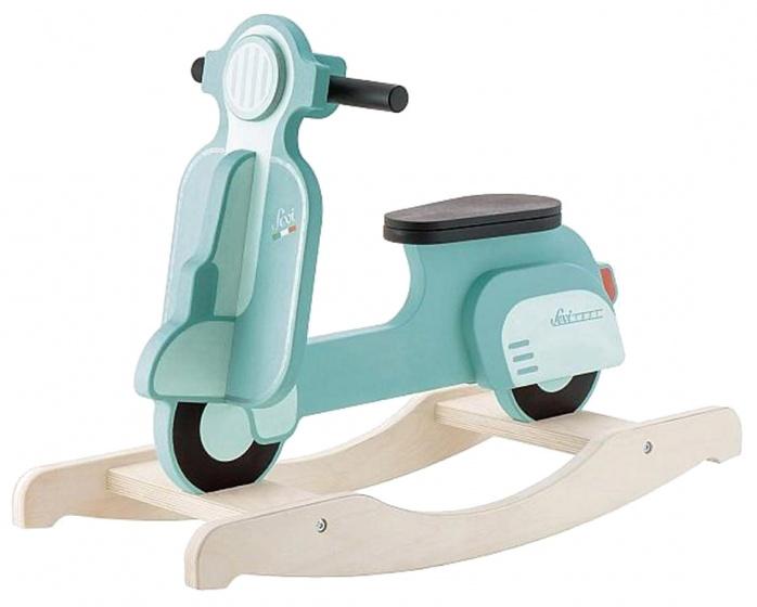 Sevi hobbelscooter Vespa groen 75 cm