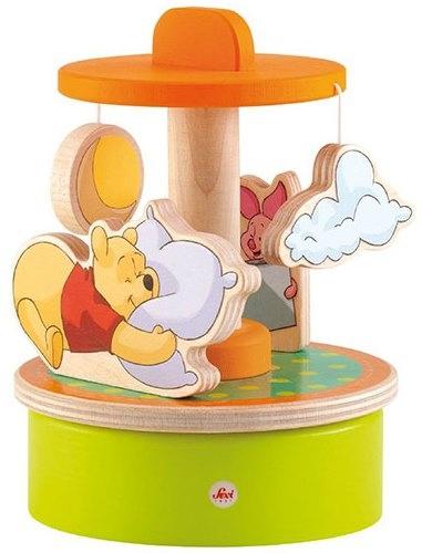 Sevi Houten Muziekdoosje Draaimolen Winnie the Pooh