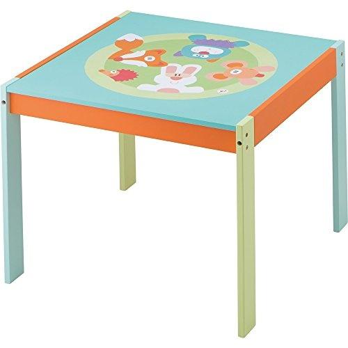 Sevi Houten tafel vriendjes 60 x 50 x 60 cm