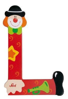 Sevi Letter L Clown 10 cm