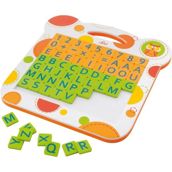 Sevi Magneetbord Letters En Cijfers 63 delig