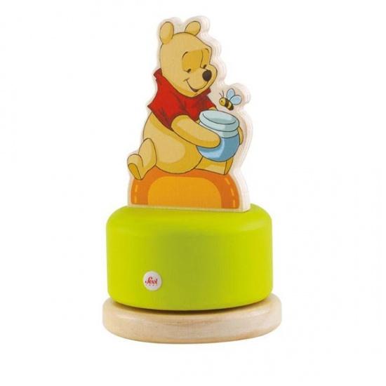 Sevi Muziekdoos Winnie de Pooh Groen 16 cm