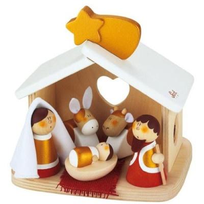 Sevi Nativity scene kerststal hout kopen