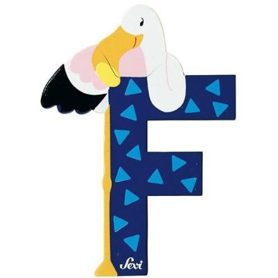 Sevi Letter F Dier 10 cm
