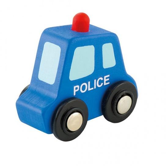Sevi Politieauto Mini Blauw 7 cm