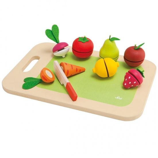 Sevi Snijplank Fruit en Groente 9 delig