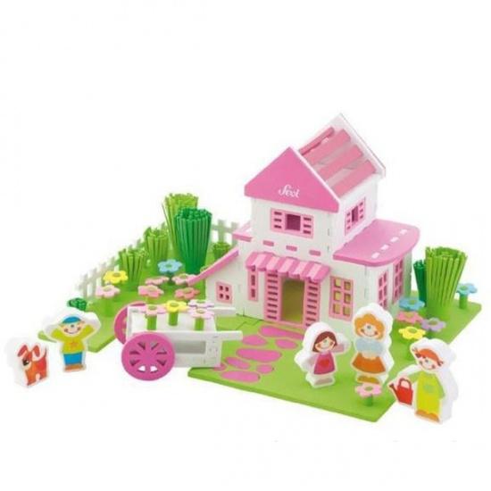 Sevi Speelset Soft Huis 108 delig