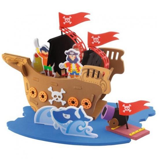 Sevi Speelset Soft Piraten 48 delig
