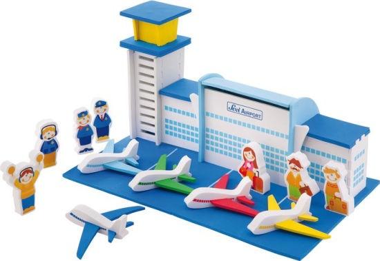 Sevi Speelset Soft Vliegveld 61 delig