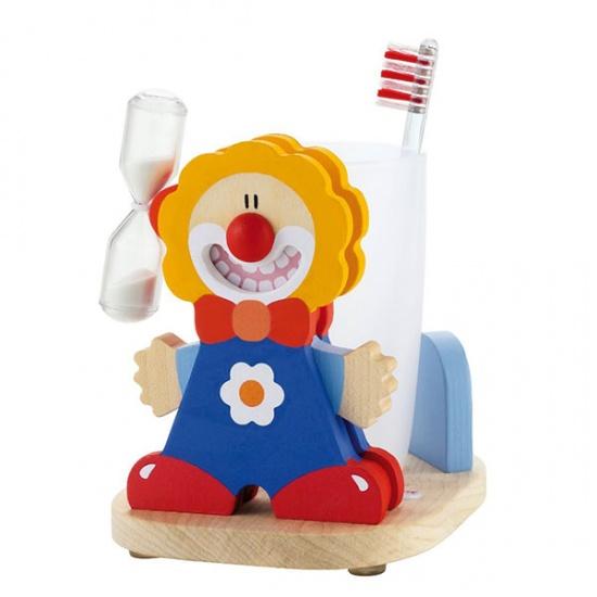 Sevi Tandenpoets Timer Clown Blauw