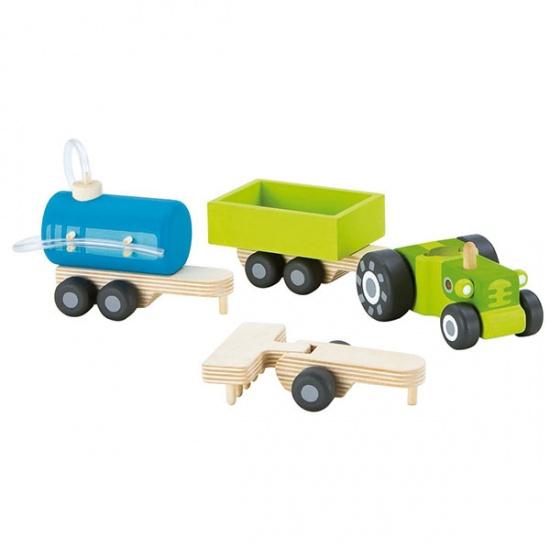 Sevi Tractor Set 4 delig