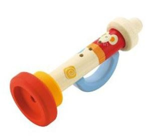 Sevi Trompet Hout 19 cm