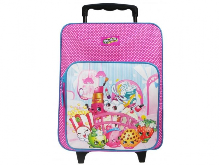 Shopkins Awesome Trolley rugzak roze 12 x 28 x 35 cm