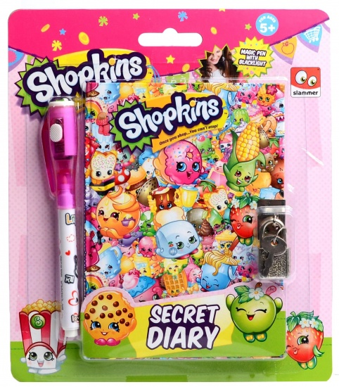 Shopkins Geheim dagboek + UV pen