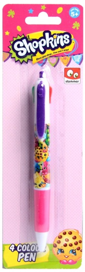 Shopkins Pen Shopkins: 4 kleuren