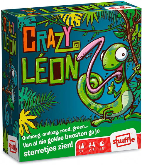 Shuffle crazy leon kaartspeldit gezelschapsspel voor kinderen (en volwassenen) is een leuke variatie op ...