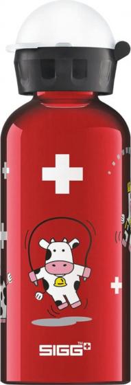 Sigg drinkbeker koeien 400 ml rood