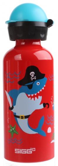 Sigg drinkbeker haai 400 ml rood