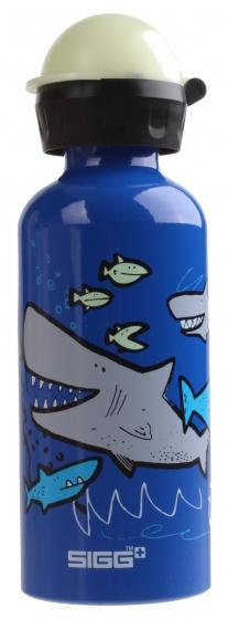 Sigg drinkbeker haaien 400 ml blauw