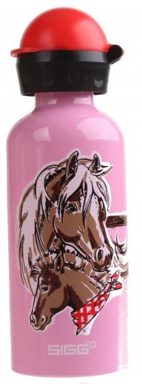 Sigg drinkbeker paarden 400 ml roze