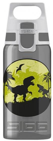 Sigg drinkfles dinosaurus grijs 0,5 liter