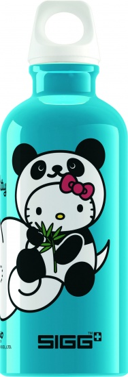 Sigg Drinkfles Kids Hello Kitty Panda Blauw 0,4L