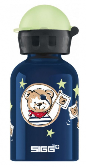 Sigg drinkbeker piratenbeer 300 ml blauw