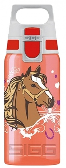 Sigg Viva drinkbeker paarden 500 ml rood