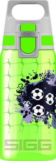 Sigg Voetbal Viva drinkfles 0.5L met One dop groen