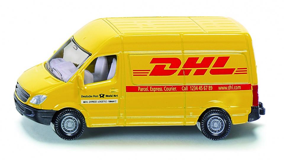 Siku DHL busje geel (1085) 5a75c35026e4