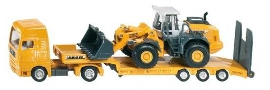 Siku Dieplader met bulldozer 1:87 geel/zwart