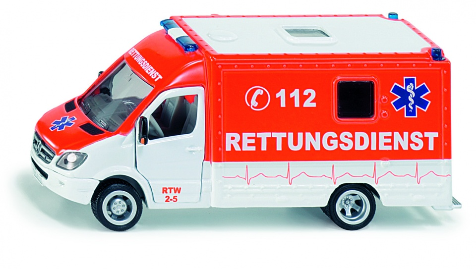 Siku Mercedes Sprinter reddingswagen - 2108