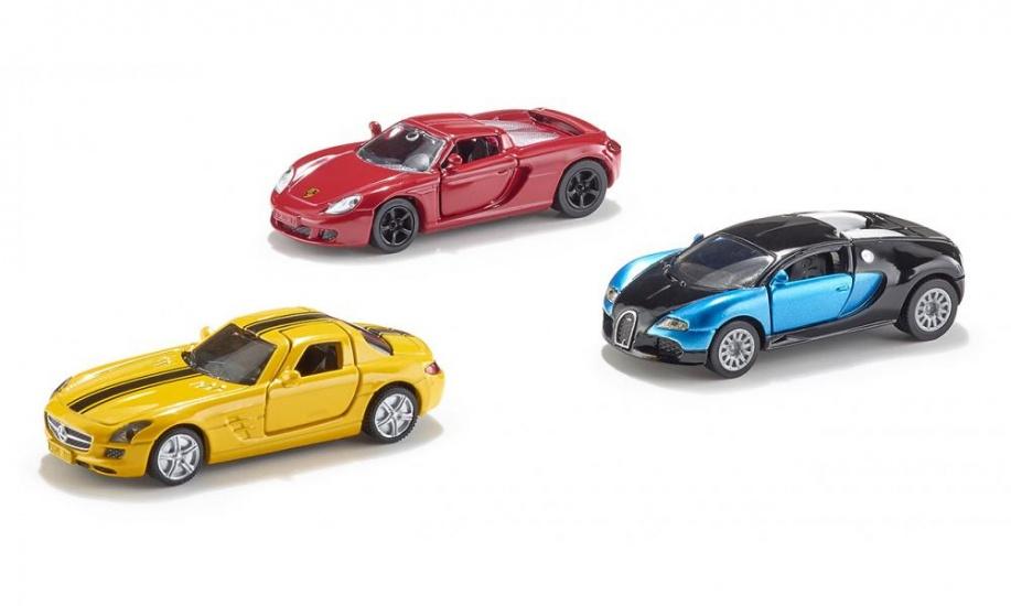 Siku Geschenkset Sportwagens (6301)