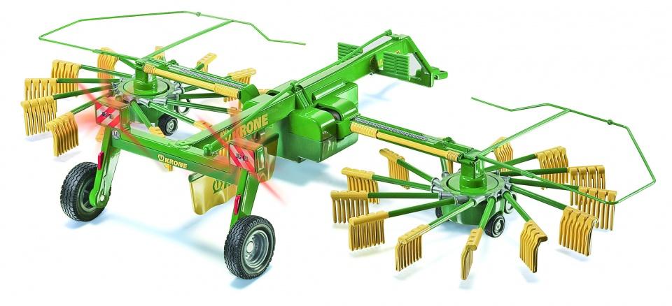 Siku RC hooischudder met twee rotors groen (6782)
