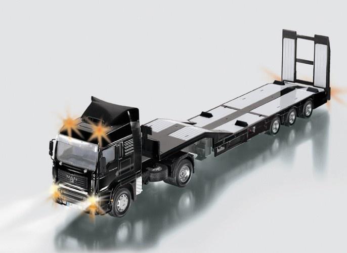Siku Man Truck Met Dieplader Radiografisch (6721)