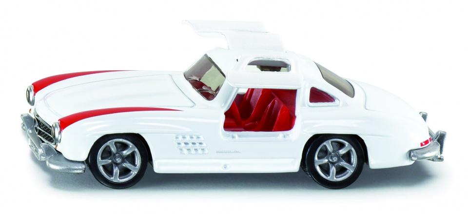 Siku mercedes benz 300 sl oldtimerspecificaties:kleur: witmateriaal: kunststof, aluminium afmetingen: 8 x 3 x ...