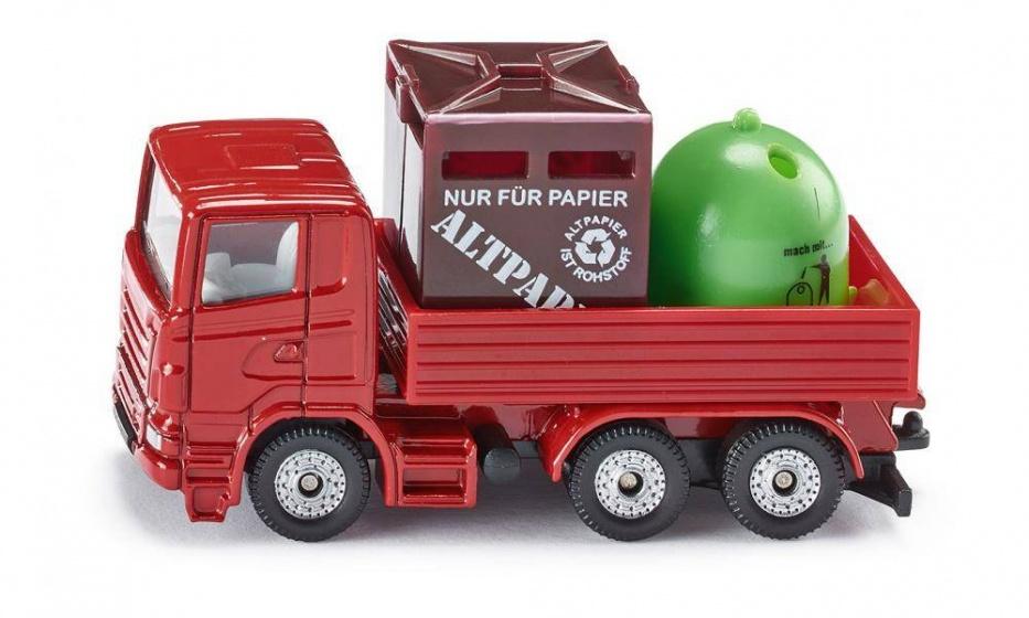 Siku Mercedes Recycling Transporter Duitsland (0828)