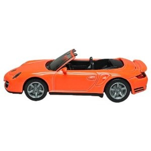 Siku Porsche 911 Turbo Cabrio (1337)