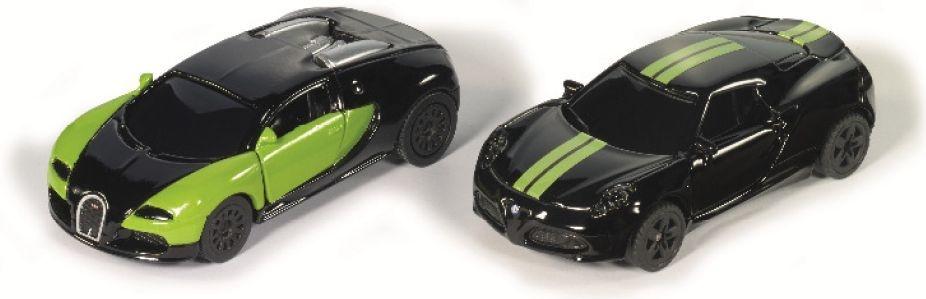 Siku sportwagen set zwart/groen (6309)