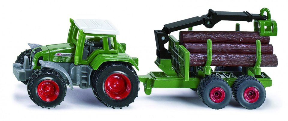 Siku 1645 Tractor met Hout