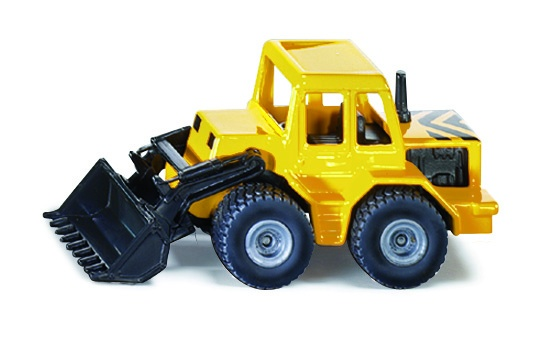 Front loader yellow / black (0802)