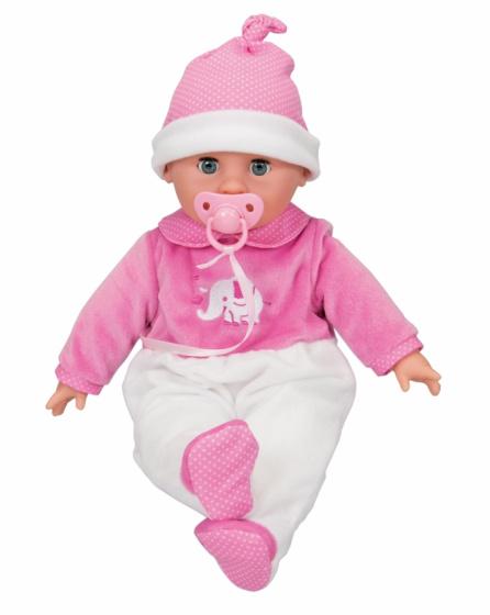 Simba babypop Laura Bedtime met speen 38 cm roze