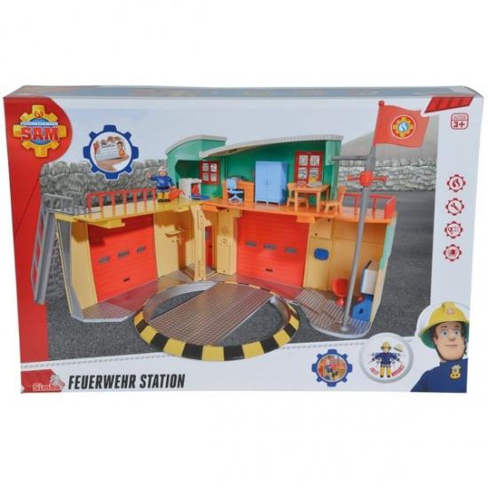 Simba Brandweerman Sam kazerne