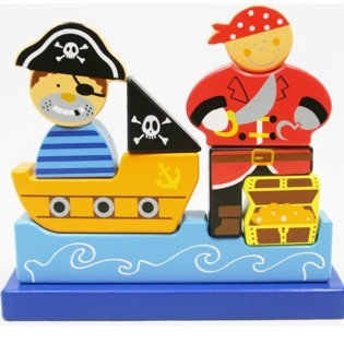 Simply for Kids Magnetische Piratenpuzzel