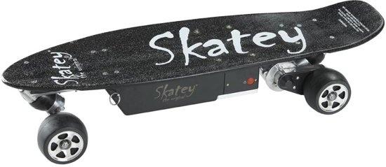 Skatey 250 Black electrisch skateboard unisex 98 cm zwart