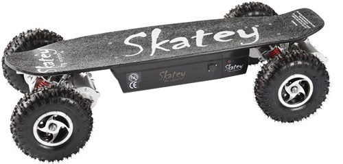 Skatey 800 Off Road QB electrisch skateboard unisex 113 cm