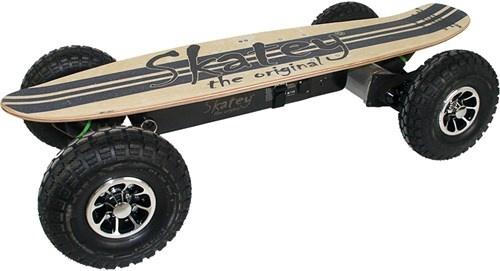 Skatey 900 Lithium Wood electrisch skateboard unisex 113 cm