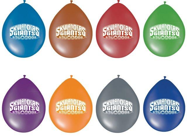 Skylanders Feestballonnen 8 stuks