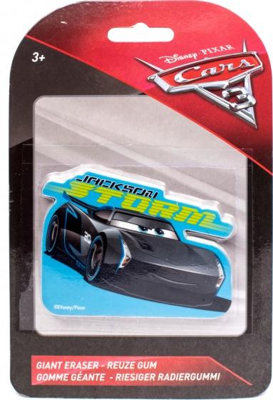 Slammer Disney Cars 3 reuze gum Storm 10 x 6 cm zwart