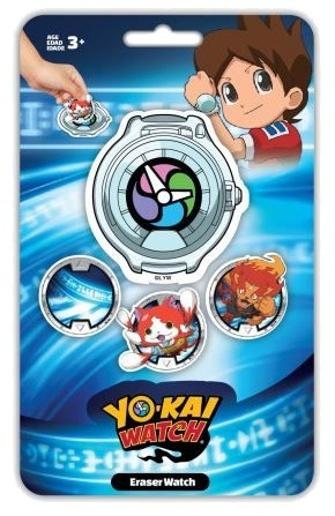 Slammer gummen Yo Kai Watch 4 stuks kopen